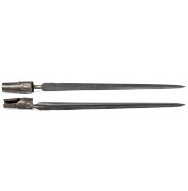 Crude Colonial Period Applied Socket Bayonet