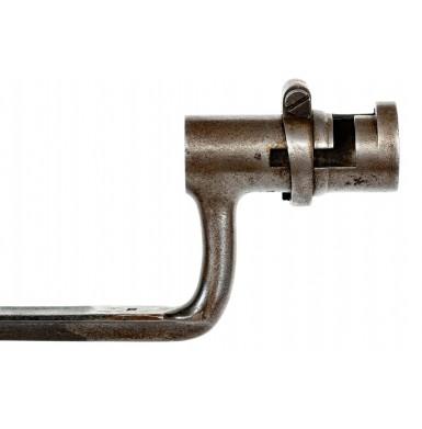 US Model 1835/40 Socket Bayonet with Rare US Pattern 1851 Bayonet Scabbard