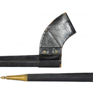 Austrian M1854 Lorenz Bayonet in Fine US Pattern 1859 Austrian Bayonet Scabbard