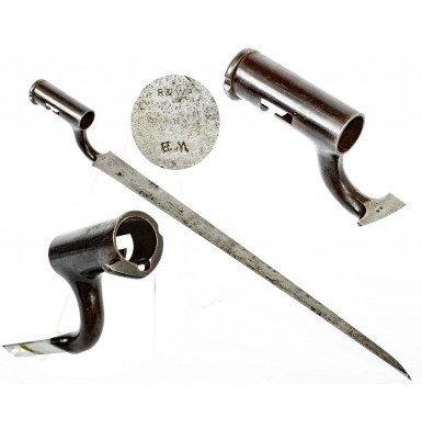 British Pattern 1851 Minié Rifle Socket Bayonet - Extremely Rare