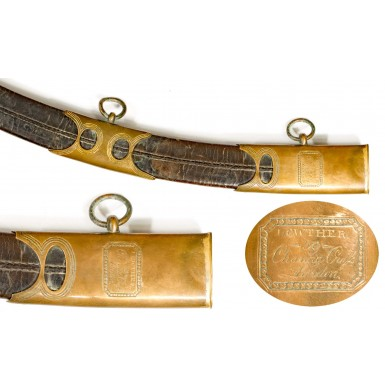 British Pattern 1796 Light Cavalry Officer's Saber by Osborn & Gunby