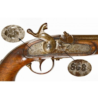 Austrian Model 1862 Kavalleriepistole (Cavalry Pistol)