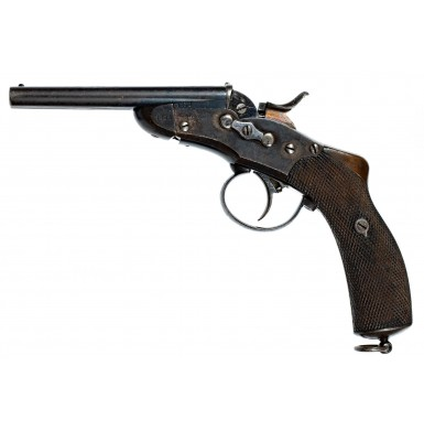 Rare Belgian M1877 Nagant Gendarmerie Pistol