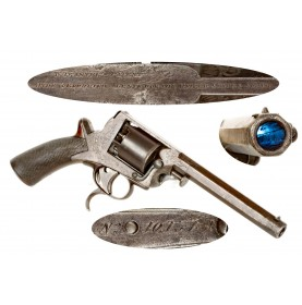 Hyde & Goodrich Agents For The United States South Marked 3rd Model Tranter 54-Bore Revolver