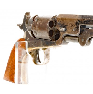 Extremely Rare & Fine Colt Navy Revolver With Enfield Cartouche