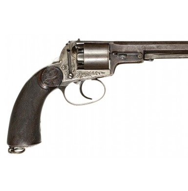 Extremely  Rare Percussion Revolver by Antonin Lebeda of Prague