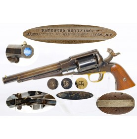 "Remington ""Old Model"" 1861 Navy Revolver - Very Fine"