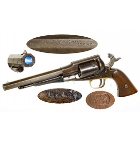 Early Martially Marked Remington-Elliott Old Model 1861 Navy Revolver