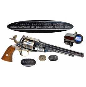Fine Remington Beals Army Martial Revolver