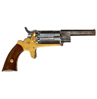 Rare and Fine John Walch 10-Shot Pocket Revolver