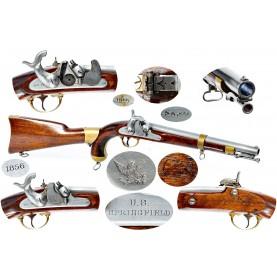 US Model 1855 Pistol Carbine - Fine & Scarce