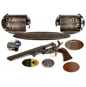 "Martially Marked Colt Model 1851 ""Navy-Army"" Rare"