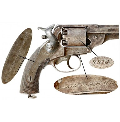 Confederate Purchased JS-Anchor Marked Kerr Revolver