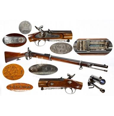 Fine British Military Pattern 1861 Enfield Short Rifle