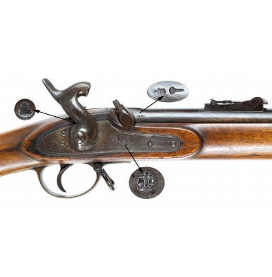 Fine Belgian Made P1853 Enfield by OP Drissen of Liège