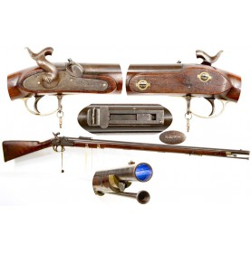 British Pattern 1851 Minié Rifle - Fine & Scarce