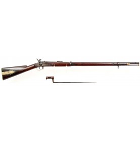 Rare Krider Type II Civil War Long Rifle