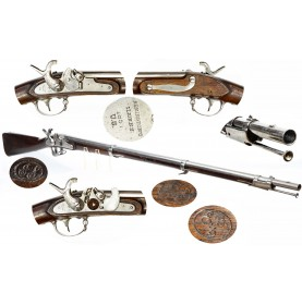 Remington-Maynard US M1816 Frankford Arsenal Alteration Musket