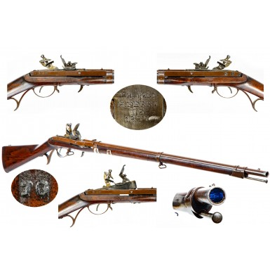 Fine US M1819 Hall Rifle Dated 1837