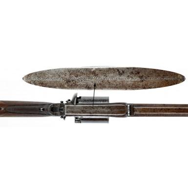 Adams Patent Revolving Rifle by Deane, Adams & Deane