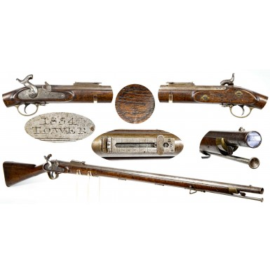 Confederate CH1 Marked British Pattern 1851 Minié Rifle