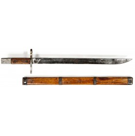 Japanese Jinsen Arsenal Late World War II Type 30 Bayonet