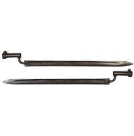 Austrian Model 1807 Jägerstutzen Socket Saber Bayonet