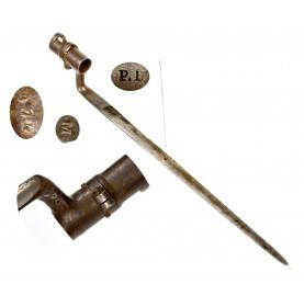 Rare Saxon (Dresden) Model 1851 Socket Bayonet