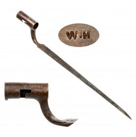 Rare William Henry US 1794 Contract Socket Bayonet