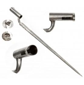 Fine Austrian Model 1838 Laukart Catch Socket Bayonet