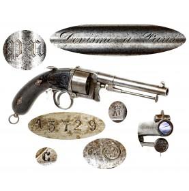 Rare Devisme Model 1858/59 Cartridge Belt Revolver