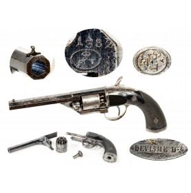 Fine Devisme M1854/55 Percussion Pocket Revolver