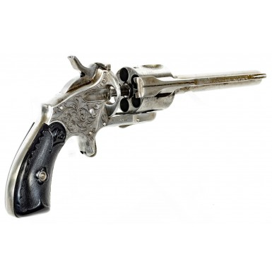 Engraved Merwin, Hulbert & Co 1st Model Medium Frame .38 Revolver