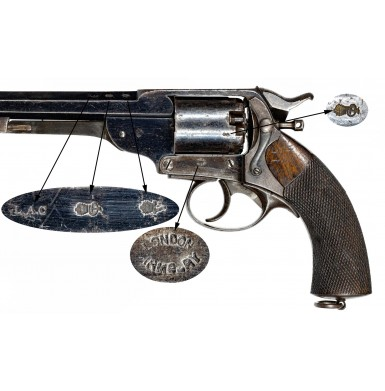 Exceptional Condition Early Confederate Purchased Kerr Revolver