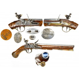 British Pattern 1801 Sea Service Pistol Dated 1805