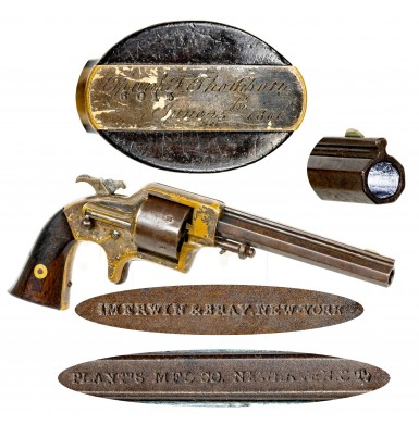 Identified Plant Army Revolver to Frank Thomson - President of the Pennsylvania Railroad & Friend of Buffalo Bill