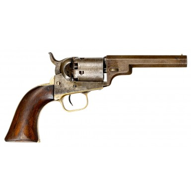 "Extremely Rare 4-inch Colt M1849 ""Wells Fargo"" Pocket Revolver - ex-Locke Collection"