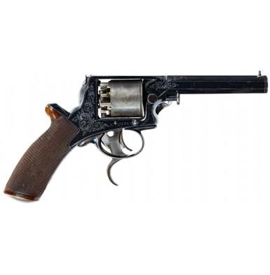 Excellent Cased 3rd Model Tranter 80-Bore Revolver
