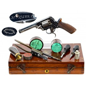 Excellent Cased 3rd Model Tranter 80-Bore Revolver