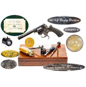 Crimean War 39th Regiment of Foot Marked Cased 1st Model Tranter Revolver