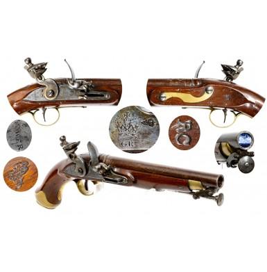 British New Land Pattern Cavalry Pistol - Very Fine