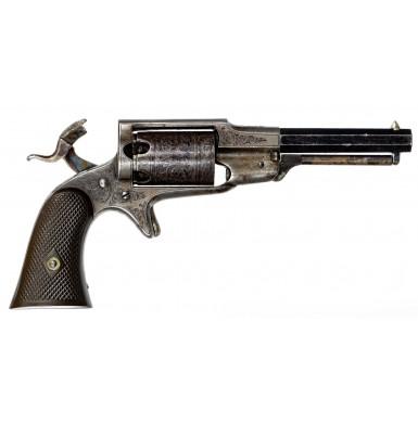 Fine Factory Engraved 3rd Model Remington-Beals Pocket Revolver