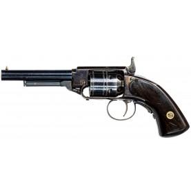 Excellent James Warner 2nd Model 1st Variant Percussion Pocket Revolver