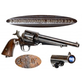 Fine Blued Remington Model 1875 Revolver in 44-40