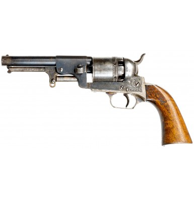 Extremely Scarce Austrian Model 1849 Naval Officer's Colt Revolver
