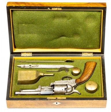 Austrian Brevete Model 1849 Colt Revolver - Extremely Rare Published Cased Example
