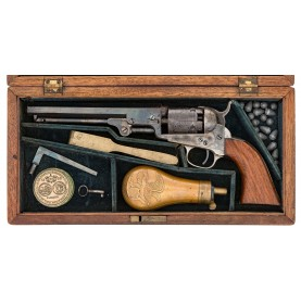 Factory Cased 6-Inch Colt Pocket Revolver