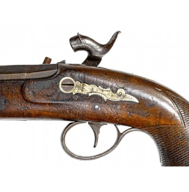 Rare HE Dimick St. Louis Marked Derringer by FH Clark of Memphis