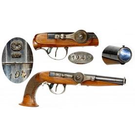 Scarce Dreyse & Collenbusch Needle Fire Pistol - Very Fine+