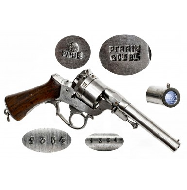 Fine Type II French Perrin Revolver
